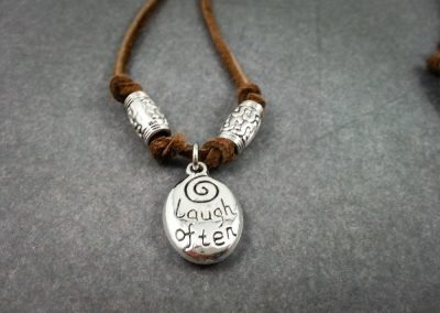 Laugh Often Necklace